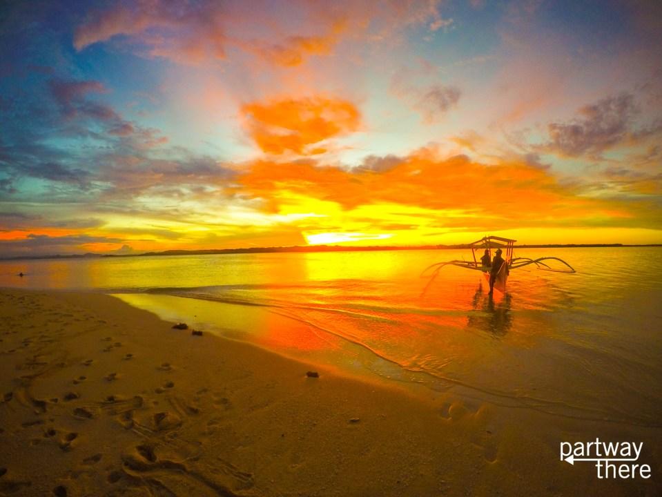 Sunset in Siargao, Philippines
