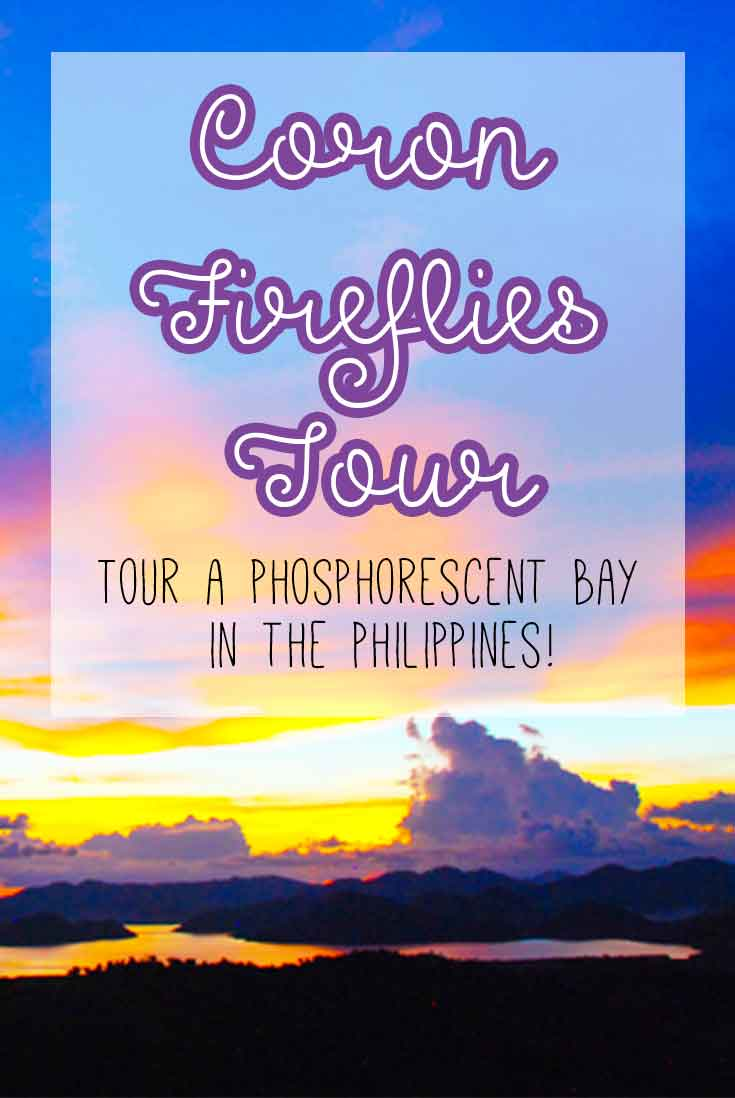 Coron Fireflies Tour in a Phosphorescent bay in the Philippines