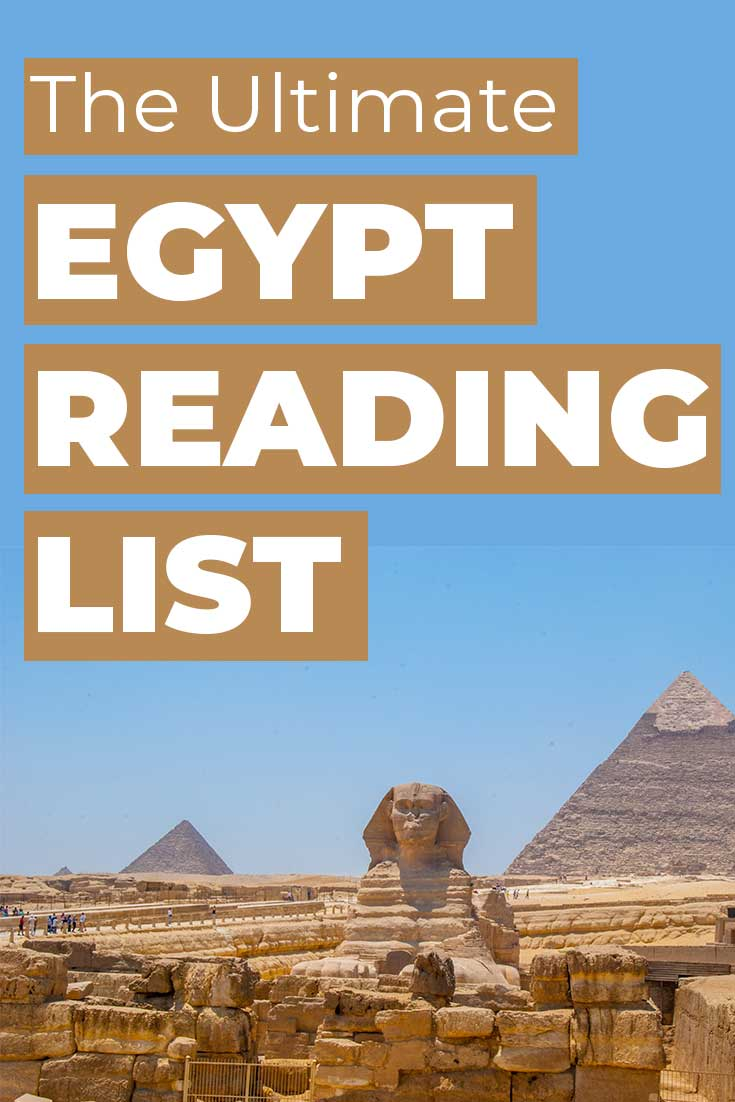 The ultimate Egypt reading list with 17 books to read before you visit