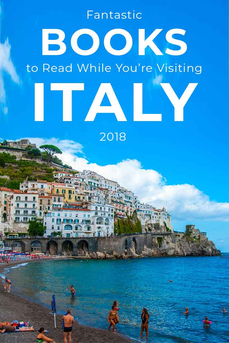 Fantastic books to read when you're going to or dreaming about Italy