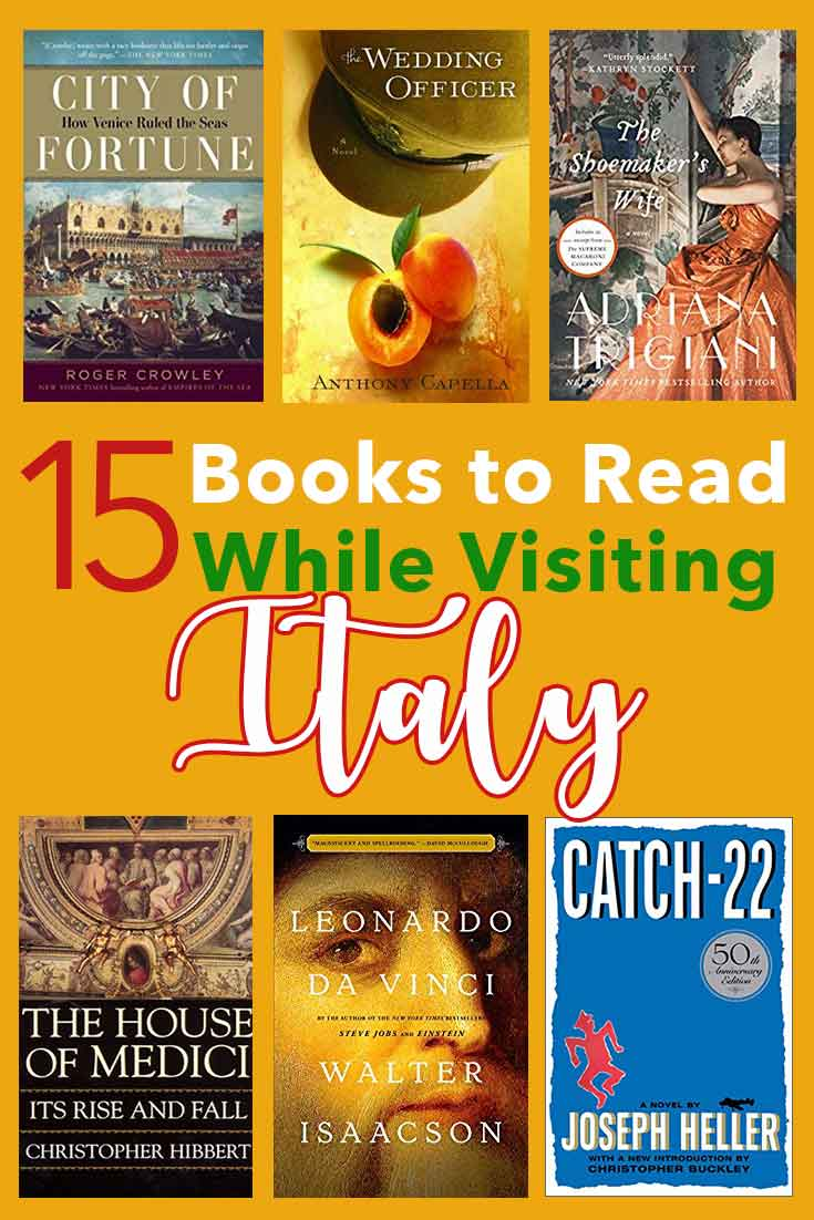 Great book ideas for when you're visiting Italy