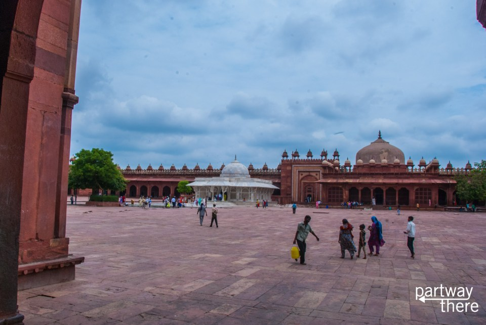 The tomb of Salim Chisti at Fatehpur Sikri