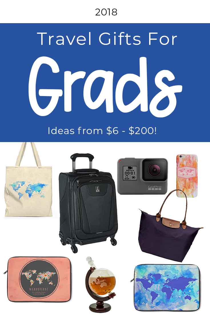 Travel gifts for 2018 graduates