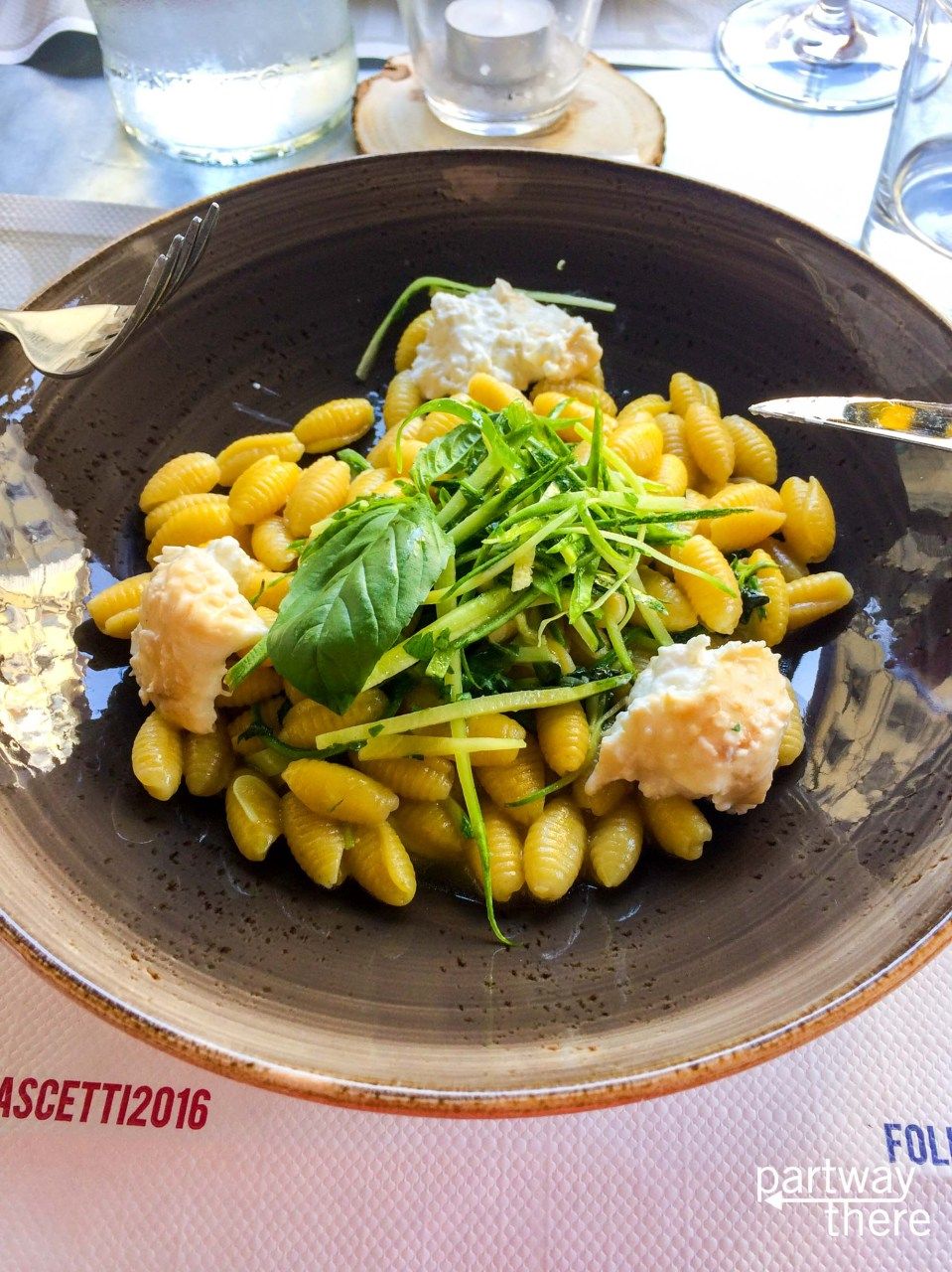 Incredible pasta in Florence, Italy