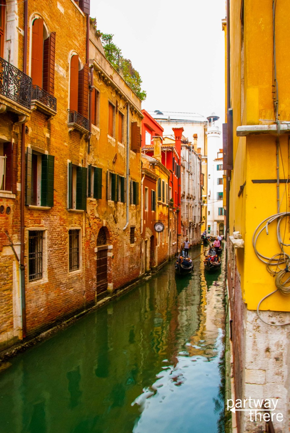 Another canal in Venice