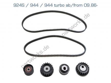 Timing belt set for Porsche 924S 944 944 turbo 951 09/87- LC