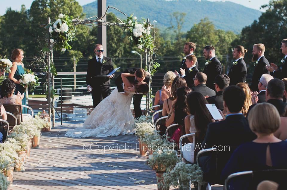 Highland Rooftop wedding