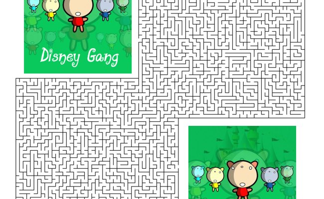Disney Gang Party Games Free Printable Games And