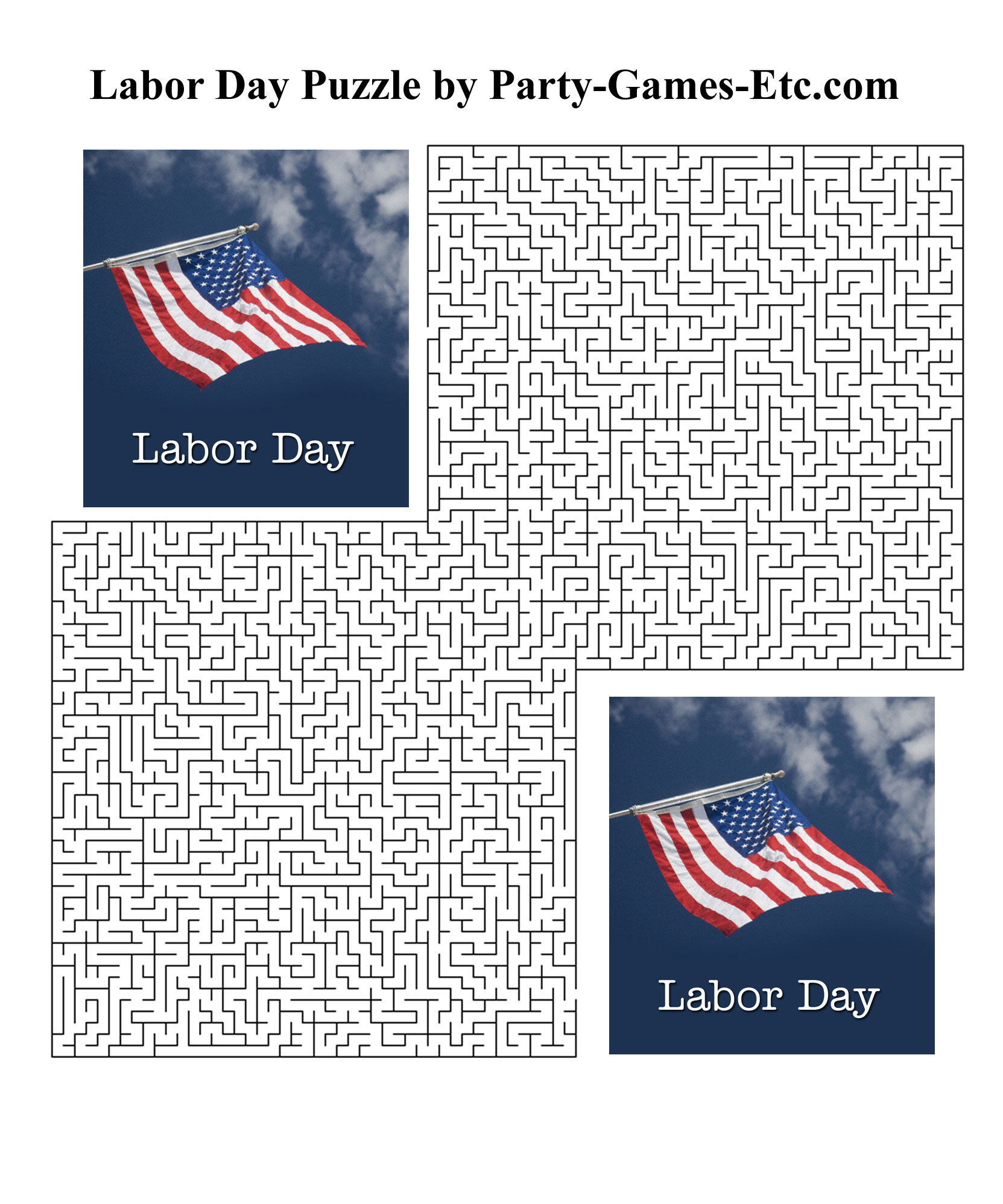 Labor Day Party Games Free Printable Games And Activities