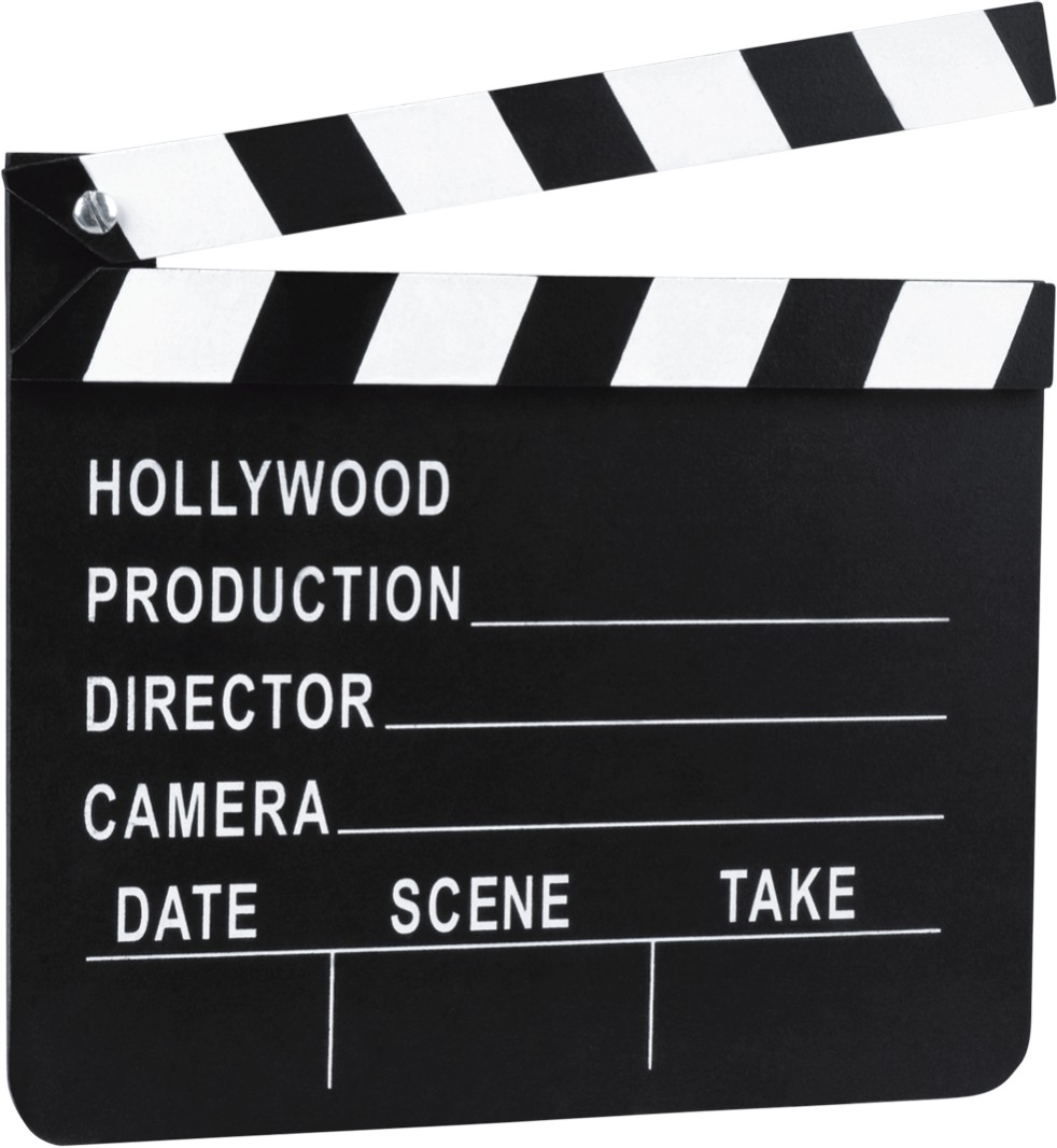 Partyartikel Roter Teppich Filmklappe Hollywood