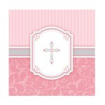 Girl First Holy Communion Napkin Serviettes