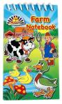 farm animal notebook