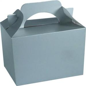 Silver Party Food Gift Box