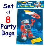 Space Robot Loot Bags