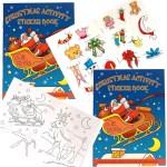 Christmas Sticker Activity Book