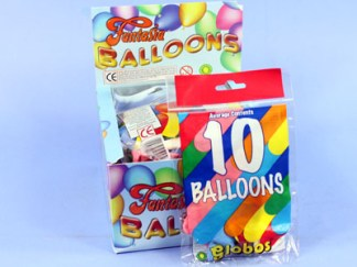Pack of 10 Balloons