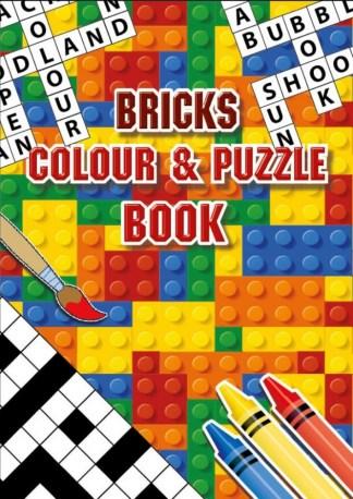 Bricks Colouring Puzzle Book