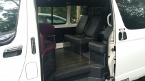Booking opf singapore 9 Seater Maxicab