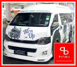 party bus corporate booking