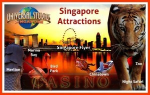 Booking of MaxiCab for Singapore Attractions Transfers