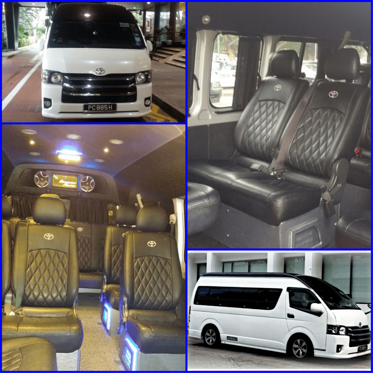 Executive Mini BUS Booking Options