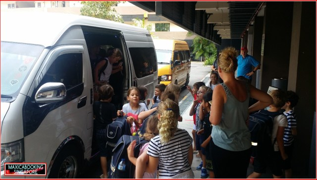 Party bus for kids birthdays