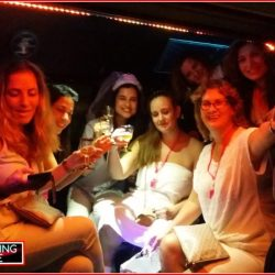 book party bus for hens party
