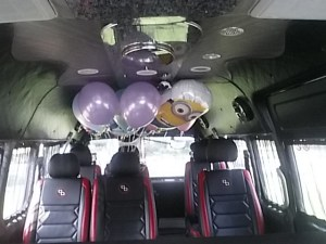 party bus for birthdays