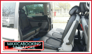 maxi cab 7 seater interior