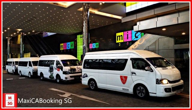 Maxi cab booking singapore