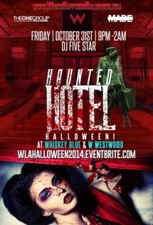 Haunted Hotel Los Angeles Halloween Hollywood-la Club
