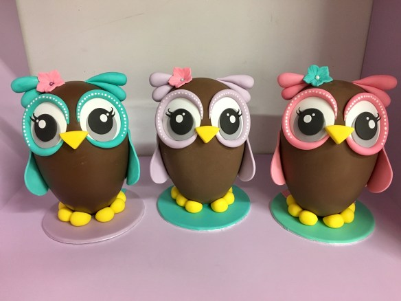 Easter Egg chocolate fondant sugarpaste how to decorate owl πως πασχαλινό σοκολατένιο αυγό αβγό με ζαχαρόπαστα Βαγια Κουκουβαγια Σαμάνθα Cakes By Samantha