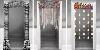 Halloween Door Decorations - Halloween Door Curtains ...