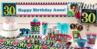 Celebrate 30th Birthday Party Supplies - 30th Birthday ...