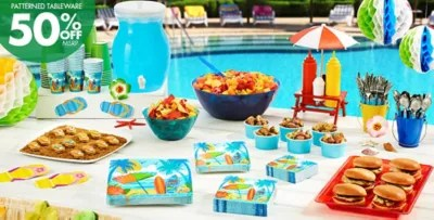 Beach-Themed Party Supplies