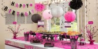 Black & Pink Birthday Party Supplies | Party City