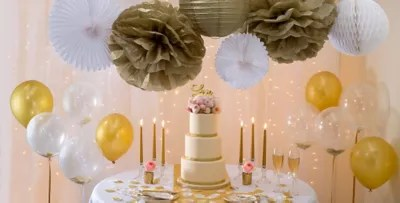 Gold Glam Wedding Party Supplies  Party City