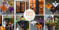Kid-Friendly Halloween Decorations - Tableware ...