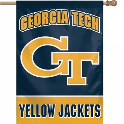 Georgia Tech Yellow Jackets Banner Flag 27in x 37in