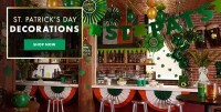 St Patricks Day Party Supplies - St Patricks Day ...