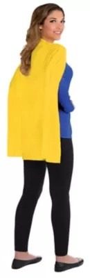 Yellow Cape 30in Party City Canada