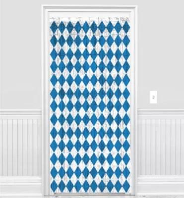 Fringe Oktoberfest Doorway Curtain 36in x 96in