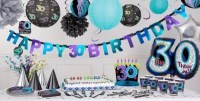 The Party Continues 30th Birthday Party Supplies - Party City