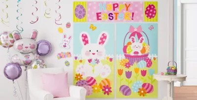 Wall Window Easter Decorations Party City Canada