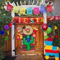 Mexican Party Entrance Decorating Ideas