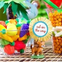 Jungle Theme Baby Shower Treats Table Idea - Party City ...