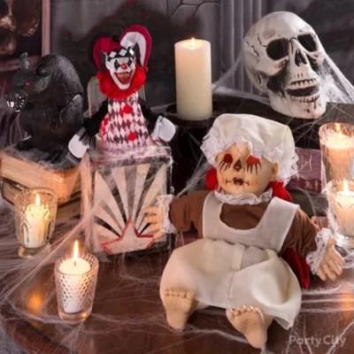 Haunted House Skeleton Couple Idea Party City