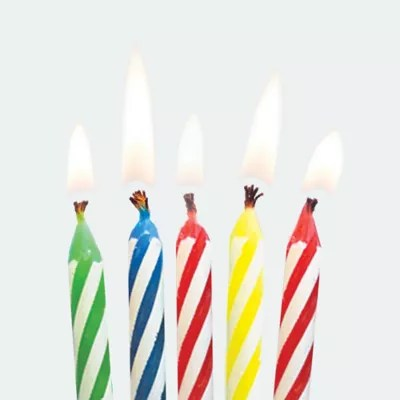 birthday candles birthday cake