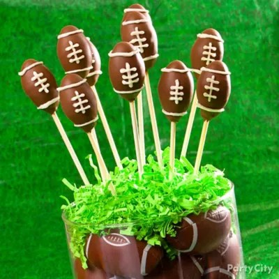 Football Team Cupcakes Idea Party City