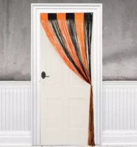 Halloween Fringe Doorway Curtain 36in x 96in